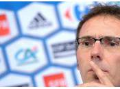 Laurent Blanc évoque Arfa.