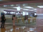 Ouverture l'Apple Store Cap3000 (Nice)