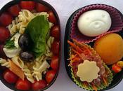 Bento Salade pâtes Vert Blanc Rouge Noir)