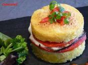 Hamburger polenta legumes soleil