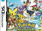 Pokémon Rangers laissent Sillages Lumière Nintendo