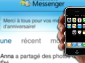 chat Facebook disponible iPhone avec Windows Live Messenger