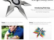 Nouveau produit Apple: l'iPod Ninja...