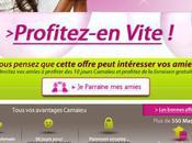 Avec l'Email Marketing, Camaïeu informe abonnées jours exceptionnels