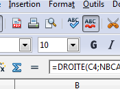 Extraire domaine d'un email OpenOffice Calc