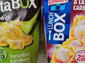 Comparatif Lunch Lustucru Pasta Sodebo