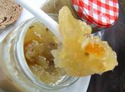 Confiture raisins blancs l'écorce d'orange confite