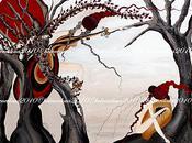 Acrylique toile: Eclosion