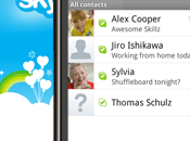 Skype pour Android disponible