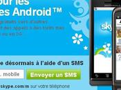 Skype débarque Android