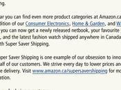 Amazon.ca baisse prix minimum pour livraison gratuite