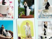 idées pour figurine gâteau mariage