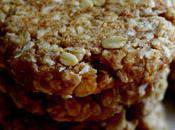 Cookies Anzacs (aux flocons d'avoine noix coco)