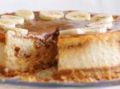 Cheesecake bananes caramel sans gluten