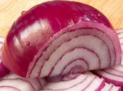 Lutter mauvais cholestérol avec oignons rouges
