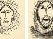 visages esquimaux dessins Matisse