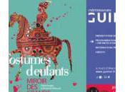 Vacances Toussaint :Exposition Costumes d'enfants, miroir grands musée Guimet
