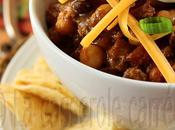 Chili carne pois chiches haricots rouges