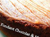 Fondant Chocolat-Marrons façon Truffade