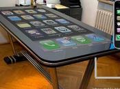 Table connect: bureau iPhone avec écran pouces