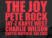 Kanye West Pete Rock, Jay-Z, Charlie Wilson, Curtis Mayfield CuDi