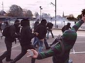 L'image semaine: Affrontement l'université Caen