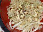 Daïkon râpée salade