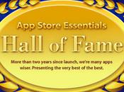 Hall Fame meilleur l'App Store Apple