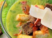 Soupe salade César