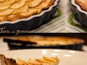 Tarte pommes crème canelle