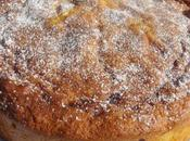 Gâteau pommes coulis caramel onctueux