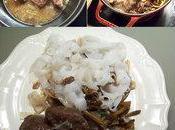 joues porc braisées sauce soja champignons