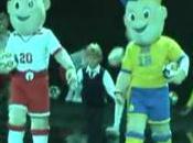 Euro 2012 mascotte viennent d'être dévoilée Varsovie