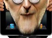Steve Jobs Rupert Murdoch fondent journal lire iPad iPhone...