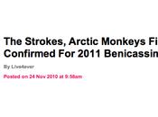 Strokes, Arctic Primal Scream Benicassim (Espagne), ça...