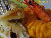 Raviolis crevettes potiron