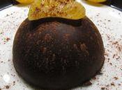 Dômes mousse chocolat coeur clémentine