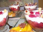 Tiramisu fruits rouge!