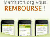 Marmiton rembourse applications iPhone