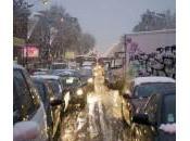 Blocage région France cause neige certainement d'un manque moyen