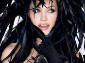 Angelina Jolie resplendissante Tatler Janvier 2010