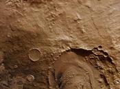 cratère Schiaparelli photographié Mars Express