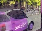 Autolib' voitures estampillées Bolloré Romainville 2011