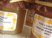 Cadeau Gourmand: Pâte tartiner sirop marrons, lait miel
