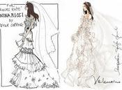 Découvrez croquis plus grands couturiers pour robe mariée Kate Middleton