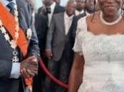 Côte d'Ivoire: l'UE décide d'interdire Laurent Gbagbo femme séjour territoire