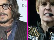 Johnny Depp enfants fans Justin Bieber