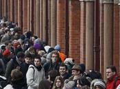 Londres-Paris Eurostar C'est chaos