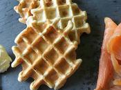 Gaufres salées sarrasin Salted Buckwheat Waffles