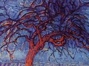 Piet Mondrian, l'artiste aimait peindre arbres Stefania)